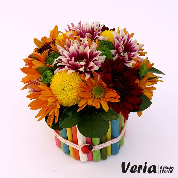 Aranjament floral Culori Vesele