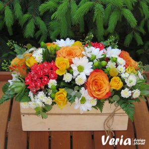 Aranjament floral Vara in gradina