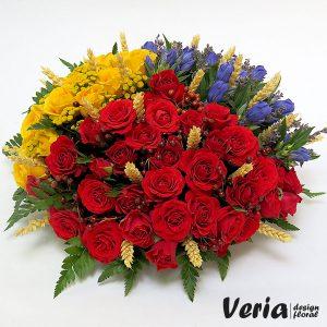Aranjament floral Tricolor