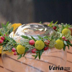 Coronita Flori si Fructe